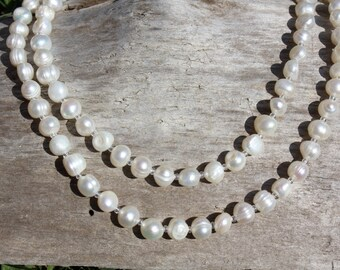 Freshwater Pearl 2 Strands Necklace
