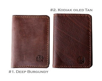 """Hand-Stitched Leather cover for Moleskine Extra Small Notebook  (2.5"""" X 4"""" )"""