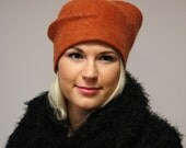 felted hat -