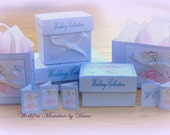 Dollhouse Tutorial Wedding Gift Box and Bags Digital Download 1:12 Wedding Gift Boxes Printables, Bridal dolls house Miniatures