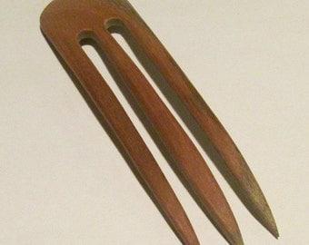 Australian Spotted Gum Hair Fork