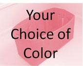 "MEDIUM Purse Insert ORGANIZER Purse Shaper (4""-5"" Width/Depth)  . .Your color choice.... Strong/Durable -(Inside pkts"