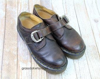 Dr. Marten's Men's Buckle Loafer 8314 /  Made in England  / UK  9, US 11