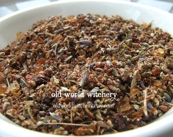 HEKATE Sacred Herb and Resin Devotional Ritual Incense Blend