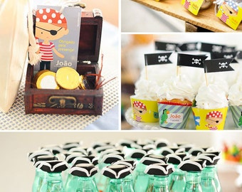 Pirate Birthday | Pirate Party | Pirate Party Printable | Pirate Decorations | Pirate Printable