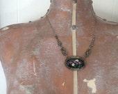 antique Edwardian necklace / 1910s jewelry / GENEVIEVE