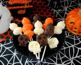 Skull Chocolates - Halloween, Pirate Party, Dia de los Muertos