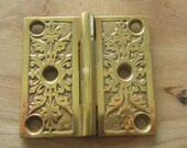 Old Brass Small Butte Hinge