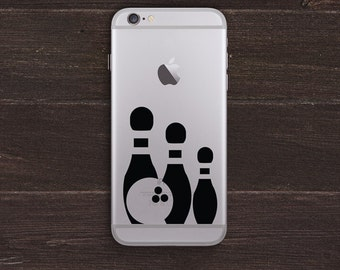 Bowling Vinyl iPhone Decal BAS-0255