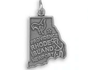 Rhode Island State Charm