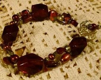 Cranberry Red Bracelet