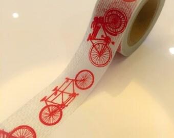 Washi Tape - bicycle (20mm X 10M)  WT745