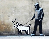 Banksy Print  - Choose Your Weapon - Multiple Paper Sizes