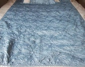 Sunham Twin Size Bedspread with Quilted Pillow Sham 68x88