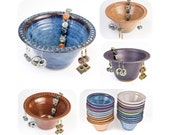 Earring bowl in your choice of 9 colors >MADE TO ORDER< allow 4 wks / earring holder | earring tree | jewelry organizer | gift for women /