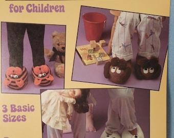 Crochet Animal slipper for Children