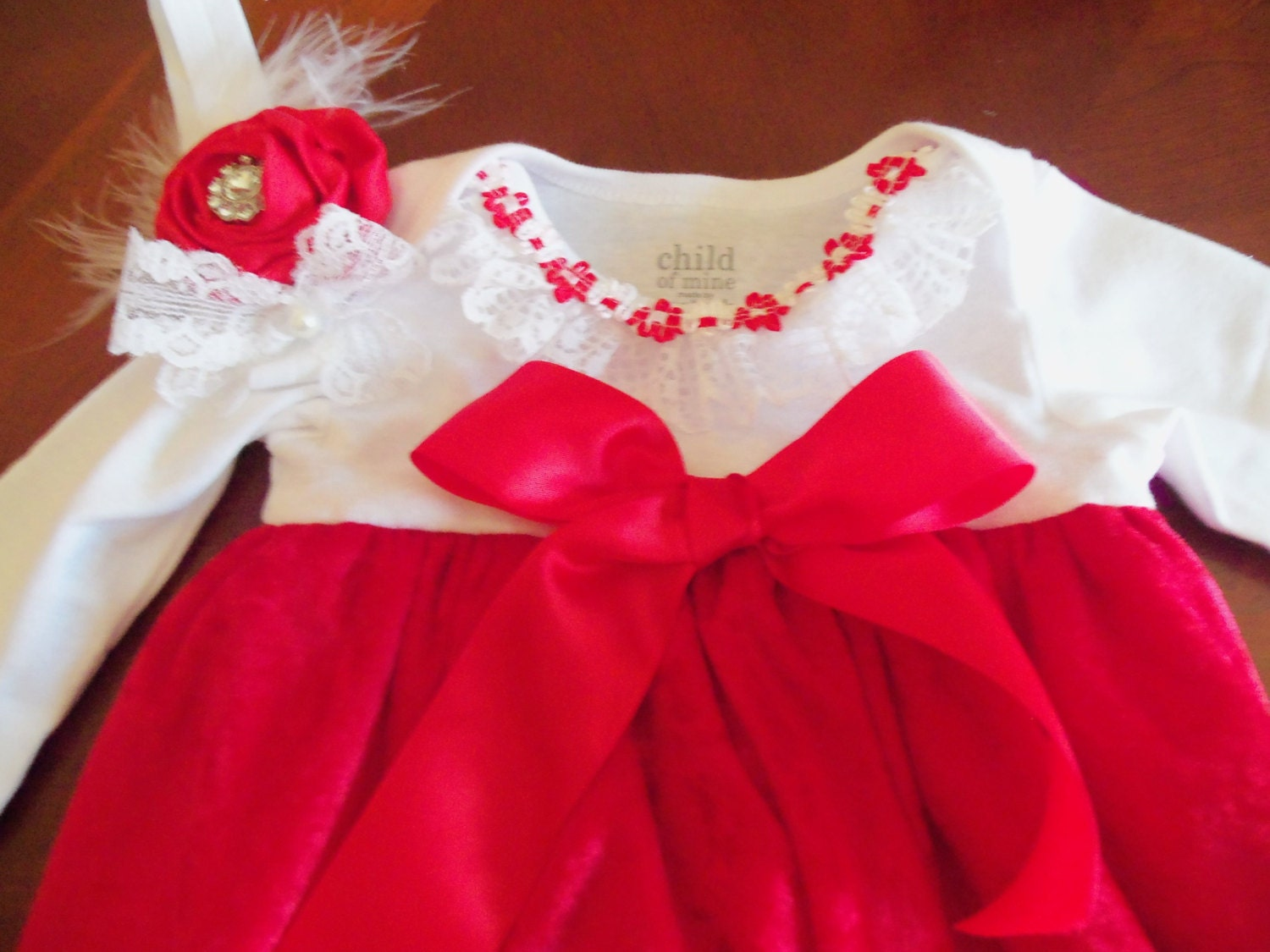 d0ea5cf1c500 Baby Girl Dresses Special Occasion Red