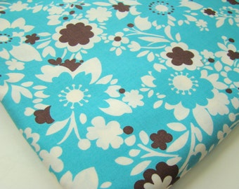 It's a Hoot  by Momo for Moda Fabrics, Bandana Teal, Last Yard OOP HTF