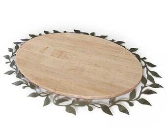 Oval Spring Challah/Bread Board