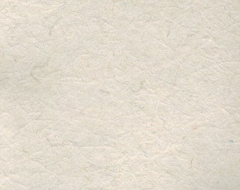 5 Sheets Linen Blend Handmade Paper