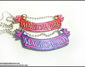 Magical Girl/Boy Necklace