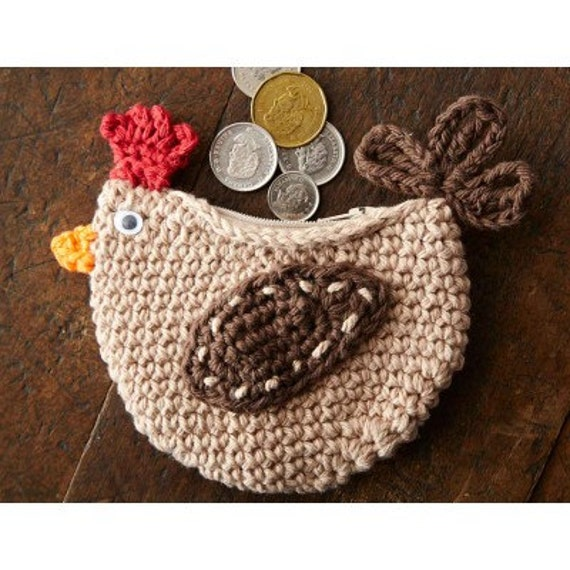 Coin Purse Crochet : Messenger Bags Pouches & Coin Purses Totes Wallets & Money Clips