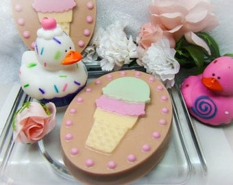 Ice Cream Soap.  Cute and Smells Delicious.  Great Gift Idea.