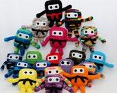 Mini Ninja Plush - Mix n Match Any 2