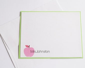 Personalized Teacher Gifts - Personalized Notecards - Teacher Note Cards - Teacher Gift - Gift for Teacher - Custom Notecards