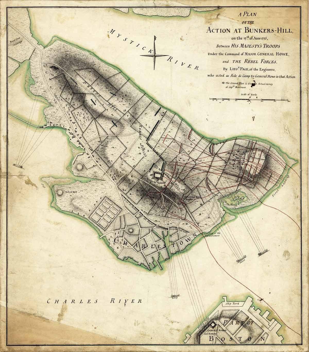 Bunker hill map