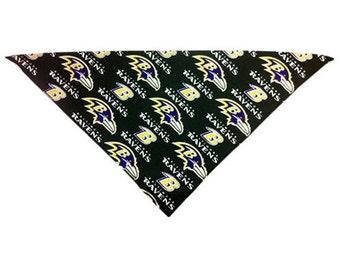 Baltimore Ravens Dog Bandana