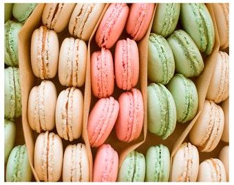 Fine Art Photography, Wall Art, Kitchen, Summer, Paris, Food Photography, Pastels, Cottage Decor, Children's Room Decor, Print