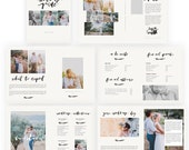 Brushed Wedding Pricing and Information Magazine  INSTANT DOWNLOAD