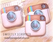 INSTAGRAM Inspired embellishments .... Scrapbooking, Cardmaking, Pocket Pages