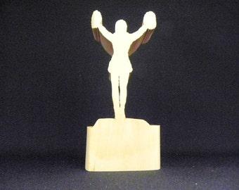 Cheerleader Art, Cheerleader Gift, Cheerleader Trophy, Cheering Trophy, Cheer Squad, Cheering Art, Cheering Sculpture, Female Sports