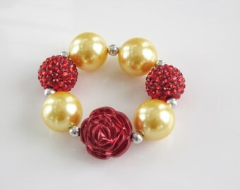 Beauty and the Beast Princess Belle Inspired Bracelet
