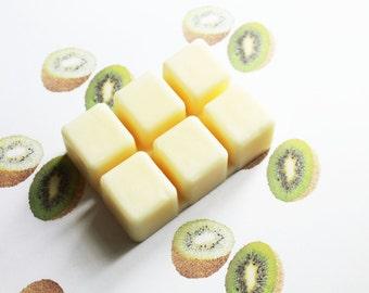 Kiwi Scented Melts - Natural Vegan Soy Wax - Soy Candles - Soy Wax Melts - Soy Tarts