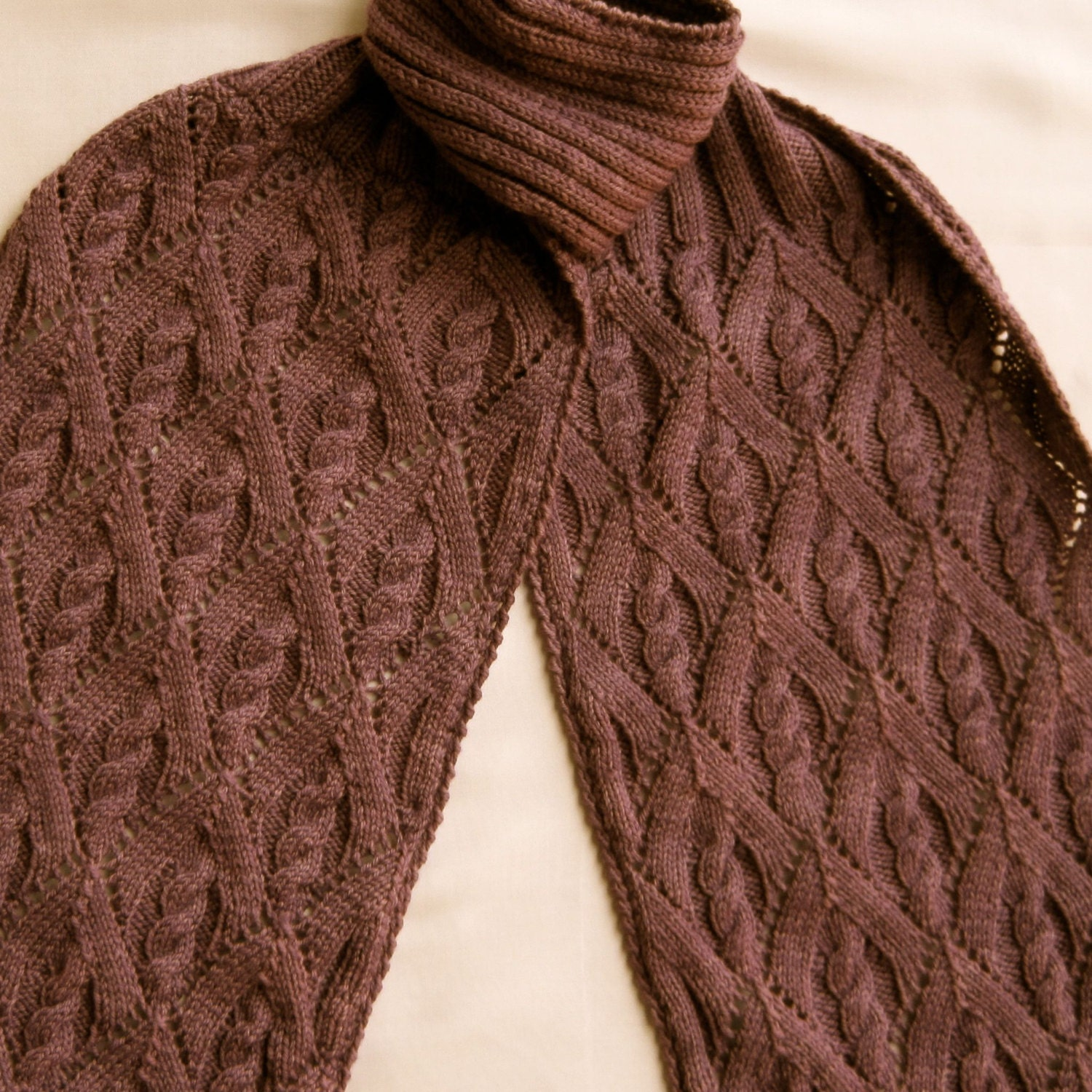Knit scarf pattern my favorite cable lace turtleneck scarf knit scarf pattern my favorite cable lace turtleneck scarf knitting pattern bankloansurffo Image collections
