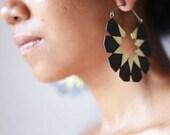 Moroccan Hoops - Big Hoop Earrings - Statement Earrings