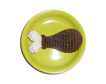 Small Dog Squeaker Turkey Drumstick Dog Toy