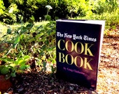 Cooking How To Cookbook, The New York Times Recipe Book, 1960s Vintage How To Book