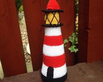 Little Lighthouse Crochet Pattern by Button Beautiful