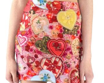 Valentines Mini Skirt