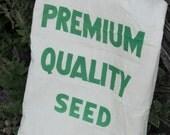 Vintage Premium Quality Seed Sack Bemis - Fabric - quilting Crafts