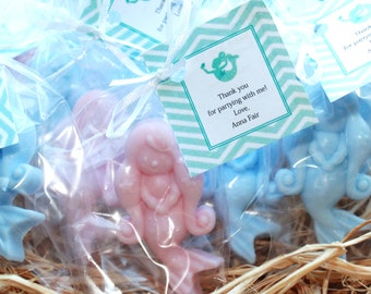 10 Mermaid Party Favor Soaps