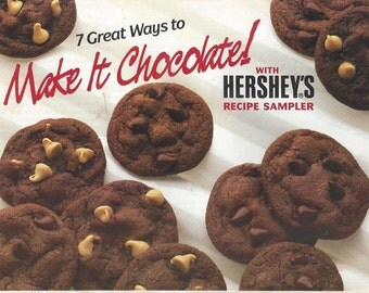 Make it Chocolate with Hershey's Recipe Pamphlet, 1987