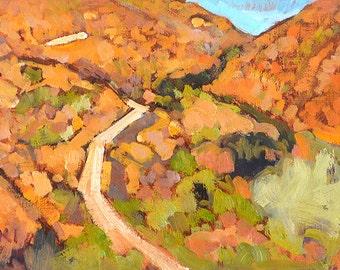 Mission Trails Park, California Landscape Painting