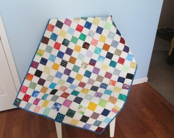 Scrappy Squares Baby Quilt