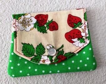 Strawberry Fields Little Wallet