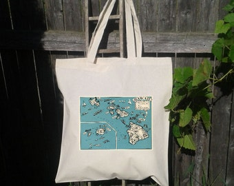 25 Destination Wedding - Wedding Welcome Tote - Tote Bag- You choose state - Personalize - Hawaiian Isle